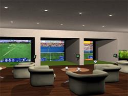 Réalisation 3D d'un sport indoor