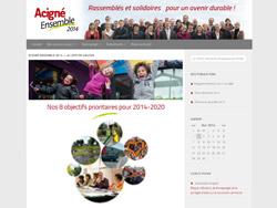 site pour la campagne municipale 2014